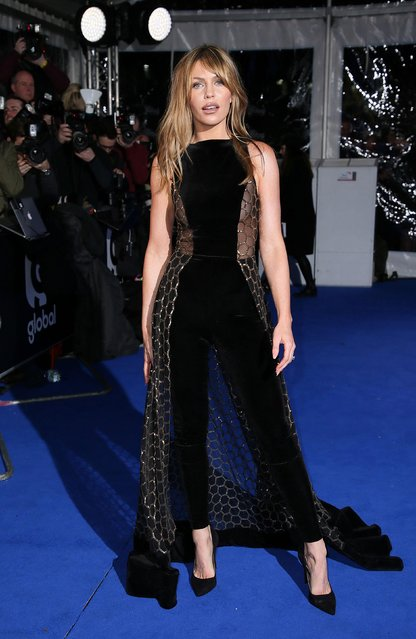 Abbey Clancy attends The Global Awards 2018 at Eventim Apollo, Hammersmith on March 1, 2018 in London, England. (Photo by PA Wire)