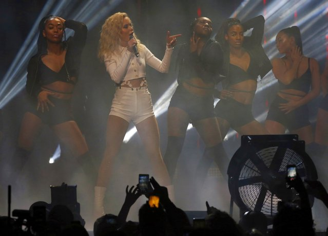Zara Larsson, performs during the MTV European Music Awards 2016, in Rotterdam, Netherlands, Sunday, November 6, 2016. (Photo by Peter Dejong/AP Photo)