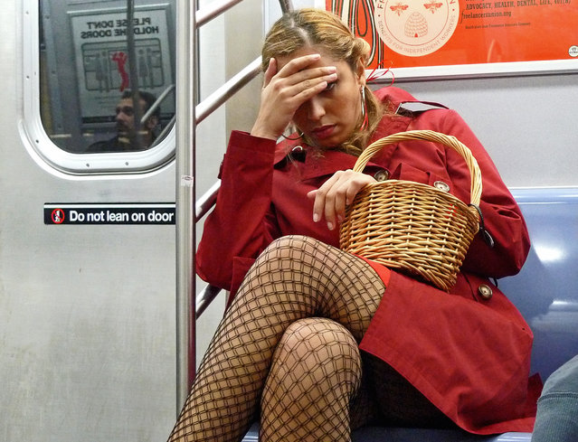 """Red Hot Riding Hood"". New York, 2009. (Photo by Tom)"