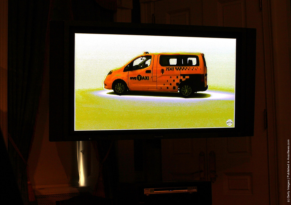 Mayor Bloomberg Announces Winner Of The New Taxi Design Competition