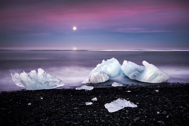 """On Distant Shores"". Jökulsárlón, Iceland. (Photo and caption by Andreas Wonisch)"