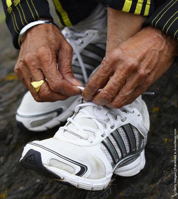 World's Oldest Marathon Runner