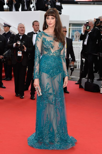 """Frederique Bel attends the opening ceremony and premiere of """"La Tete Haute"""" (Standing Tall) during the 68th annual Cannes Film Festival on May 13, 2015 in Cannes, France. (Photo by Pascal Le Segretain/Getty Images)"""