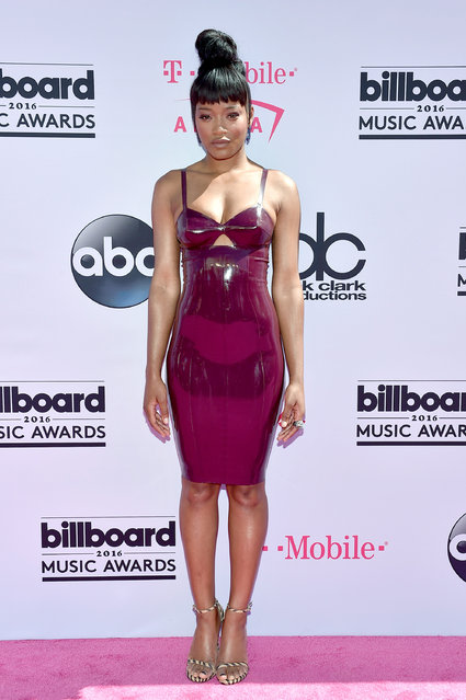 Actress/singer Keke Palmer attends the 2016 Billboard Music Awards at T-Mobile Arena on May 22, 2016 in Las Vegas, Nevada. (Photo by David Becker/Getty Images)