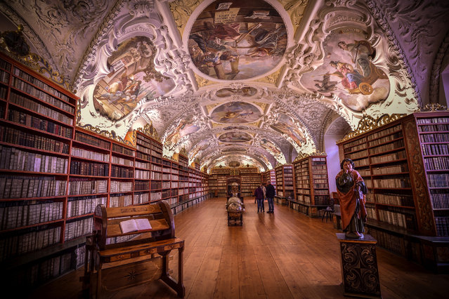 Shortlisted: Strahov Library, Prague, Czech Republic by Debdatta Chakraborty. (Photo by Debdatta Chakraborty/Historic Photographer of the Year Awards 2019/The Guardian)