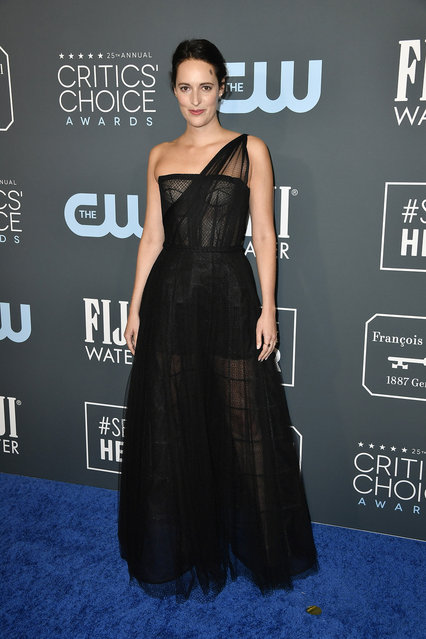Phoebe Waller-Bridge attends the 25th Annual Critics' Choice Awards at Barker Hangar on January 12, 2020 in Santa Monica, California. (Photo by Frazer Harrison/Getty Images)