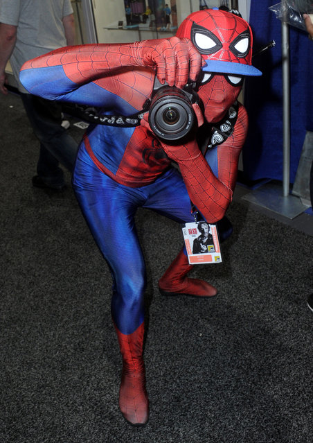 A cosplayer poses for a photo during 2017 Comic-Con International at San Diego Convention Center on July 22, 2017 in San Diego, California. (Photo by Albert L. Ortega/Getty Images)