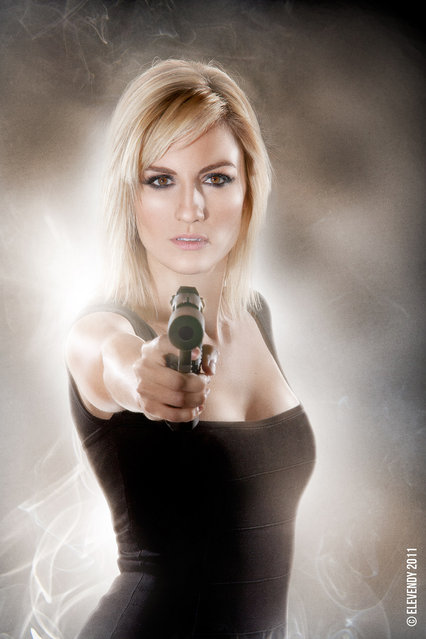 Alison Haislip – Agent 008. (Photo by Elevendy Inc.)