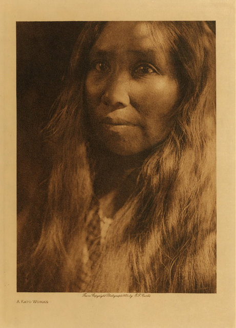 A Kato woman in 1924. (Photo by Edward S. Curtis)