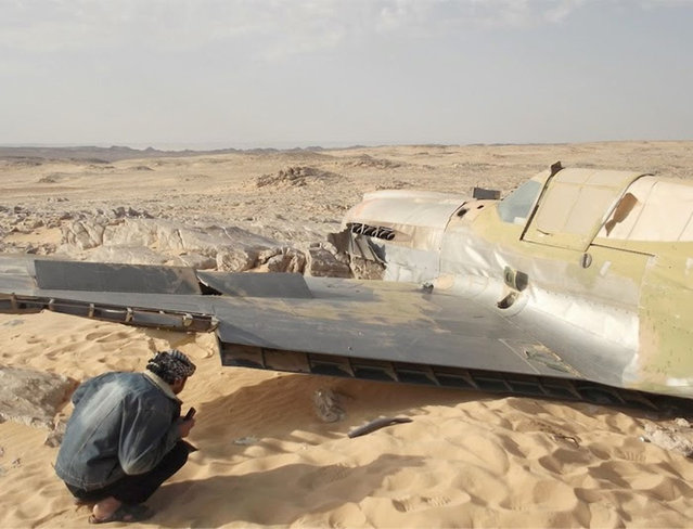 Second World War Fighter Plane Found Preserved In The Sahara