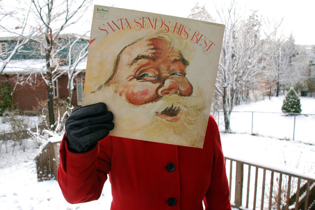 """Various, Santa Sends His Best"". (Peter J. Rockwell)"