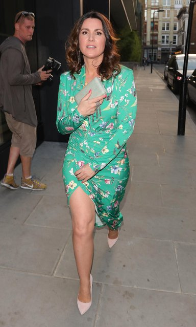 Susanna Reid seen attending the ITV Summer Party at Nobu Hotel in Shoreditch on July 19, 2018 in London, England. (Photo by The Mega Agency)