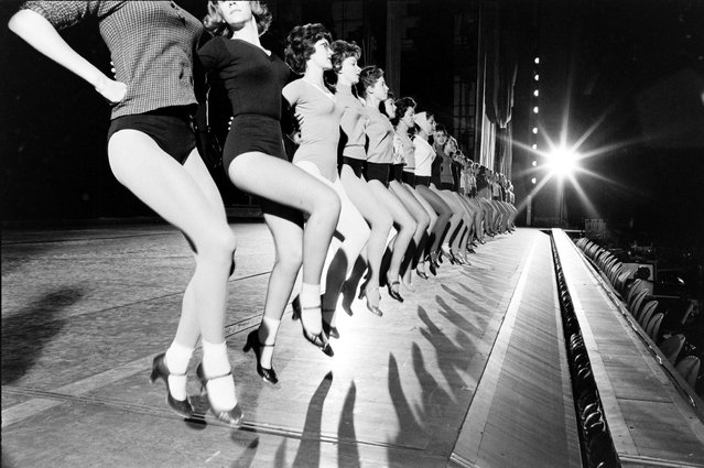 The Rockettes practicing the kickline during a rehearsal in New York City in 1960. (Photo By Art Rickerby/The LIFE Premium Collection/Getty Images)