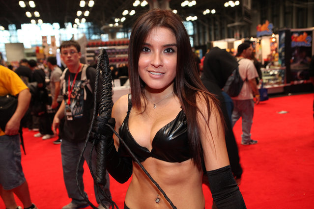 Catwoman – New York Comic Con 2013. (Photo by Jamie Nyc)