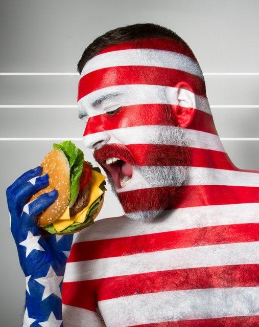 Fat Flag By Jonathan Icher