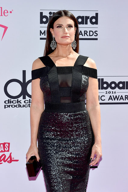 Actress/recording artist Idina Menzel attends the 2016 Billboard Music Awards at T-Mobile Arena on May 22, 2016 in Las Vegas, Nevada. (Photo by David Becker/Getty Images)