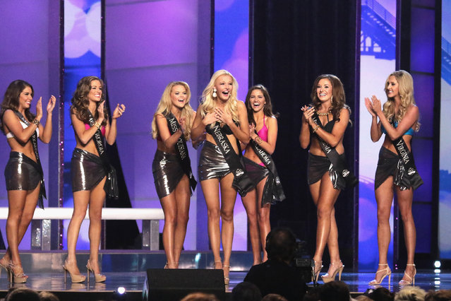 2016 Miss America Competition at Boardwalk Hall Arena on September 13, 2015 in Atlantic City, New Jersey. (Photo by Donald Kravitz/Getty Images for dcp)