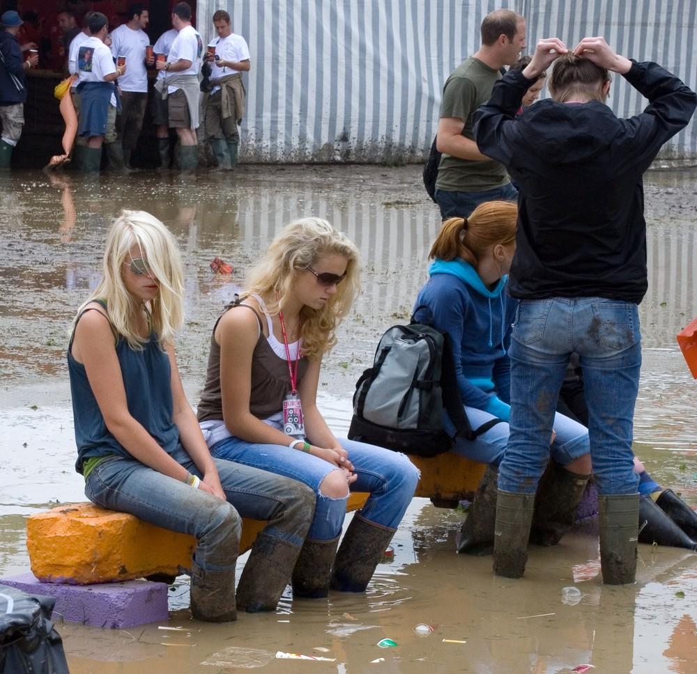 Muddy Festival in Glastonbury