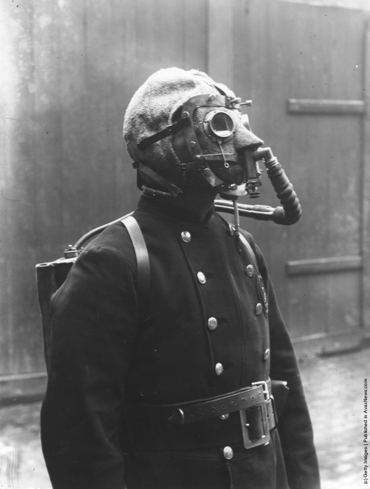 [Oldies] Gas Masks. Part I