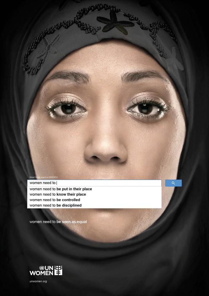 """UN Women"" Ad Series Reveals Widespread Sexism"