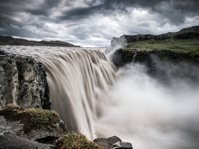 """At the Edge of the World"". Dettifoss, Iceland. (Photo and caption by Andreas Wonisch)"