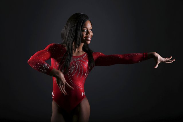 Gymnast Gaby Douglas poses for a portrait at the U.S. Olympic Committee Media Summit in Beverly Hills, Los Angeles, California March 7, 2016. (Photo by Lucy Nicholson/Reuters)