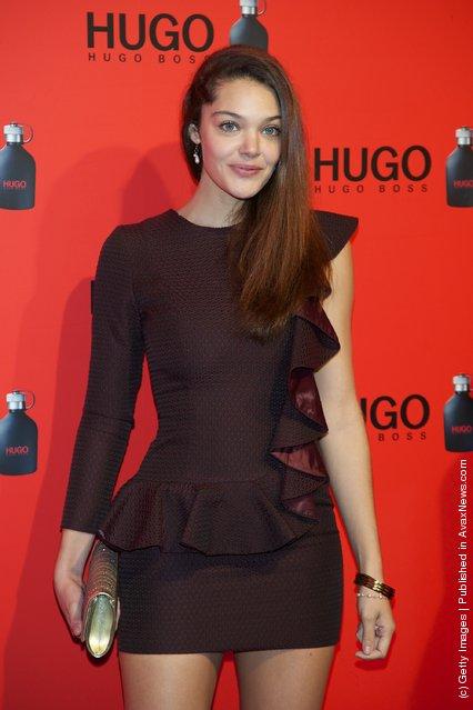 Spanish actress Ana Rujas attends Hugo Boss night party 2011