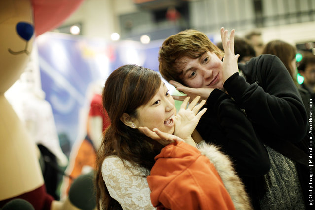 Manga And Anime Enthusiasts Take Part In The Hyper Japan Festival