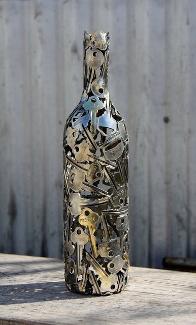 Old Keys Sculptures by Michael Moerkerk