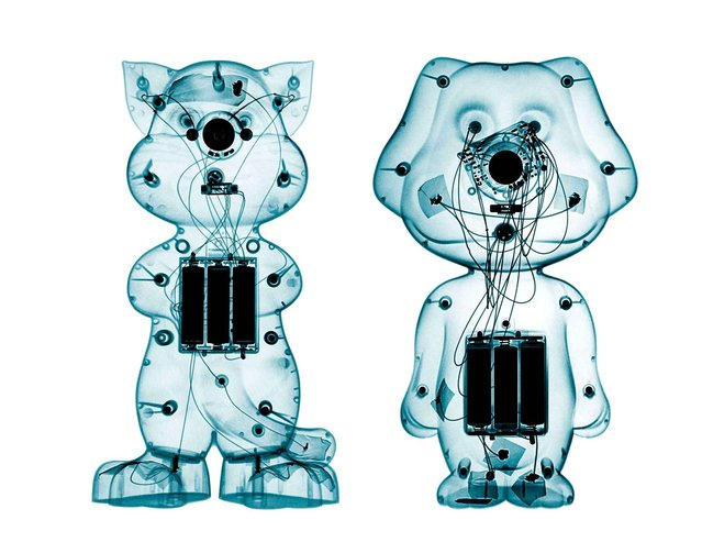 Australian photographer Brendan Fitzpatrick's X-ray photographs expose the inner workings of toys. Fitzpatrick's photographs are both whimsical and mechanical, evoking the curiosity of childhood and the desire to discover how things look and work from other perspectives. (Photo by Brendan Fitzpatrick)