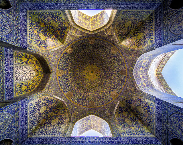 The historical Shah (Emam) mosque, located in Naqshejahan square in Isfahan, Iran. (Photo by Mohammad Reza Domiri Ganj)