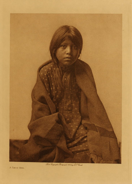 A Taos girl in 1905. (Photo by Edward S. Curtis)