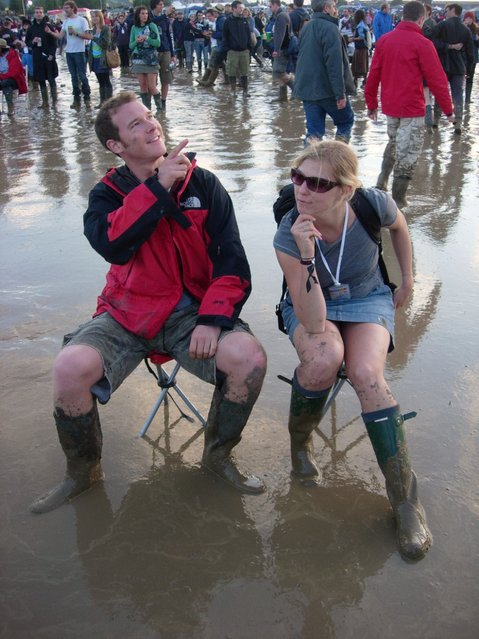 """Glasto 2007"". (Photo by virgorama)"