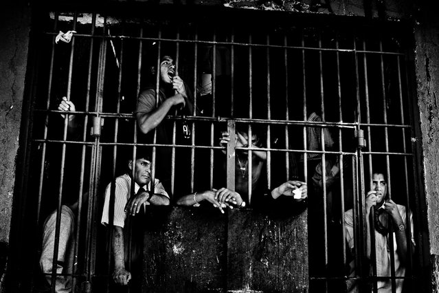 Winner, Professional Contemporary Issues. Prisons of South America. Prison inmates in Santiago, Chile. (Photo by Valerio Bispuri/2013 Sony World Photography Awards)
