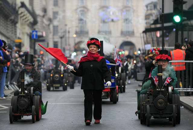 A general view during the New Years Day Parade on January 1, 2015 in London, England. (Photo by John Phillips/Getty Images)
