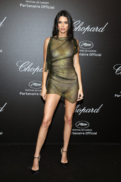 Kendall Jenner attends Chopard Secret Night during the 71st annual Cannes Film Festival at Chateau de la Croix des Gardes on May 11, 2018 in Cannes, France. (Photo by Pascal Le Segretain/Getty Images for Chopard)