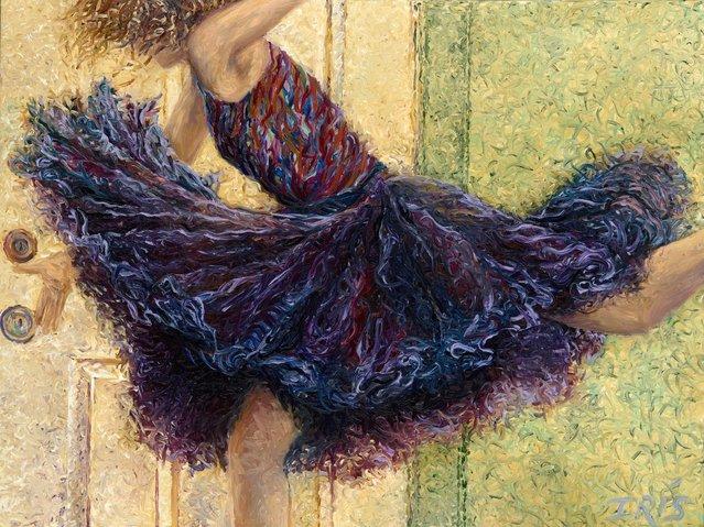 Iris Scott - Painting With Fingers