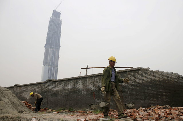 15: The Wuhan Center in Wuhan, China. Height: 1,437 ft. (Photo by Reuters/Stringer)