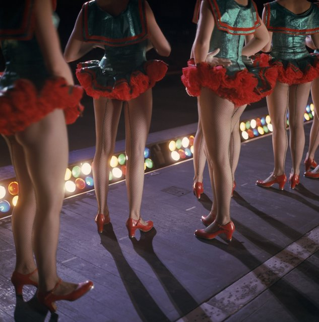 The Rockettes perform onstage at Radio City Music Hall in New York City on December 10, 1967. (Photo by NBC via Getty Images)