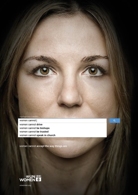 """UN Women"". Advertising Agency: Ogilvy & Mather, Dubai, UAE"