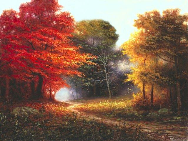 Canvas Paintings By Egidio Antonaccio