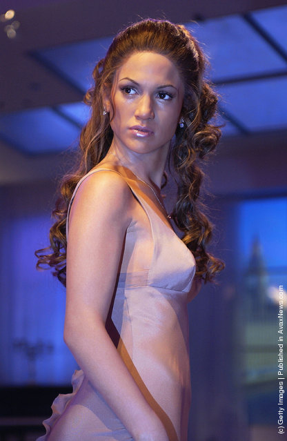 Wax figure of Jennifer Lopez