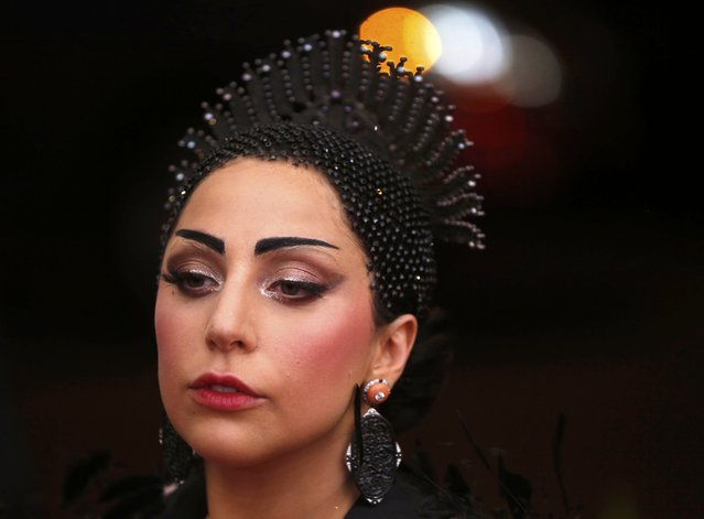 "Lady Gaga arrives at the Metropolitan Museum of Art Costume Institute Gala 2015 celebrating the opening of ""China: Through the Looking Glass"" in Manhattan, New York May 4, 2015. (Photo by Lucas Jackson/Reuters)"