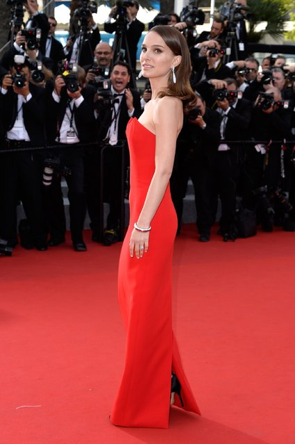 """Natalie Portman attends the opening ceremony and premiere of """"La Tete Haute"""" (Standing Tall) during the 68th annual Cannes Film Festival on May 13, 2015 in Cannes, France. (Photo by Pascal Le Segretain/Getty Images)"""