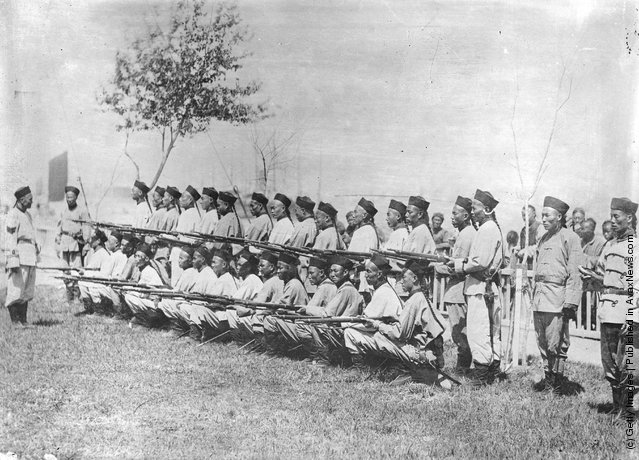 1906: The Chinese army during the Russo-Japanese War