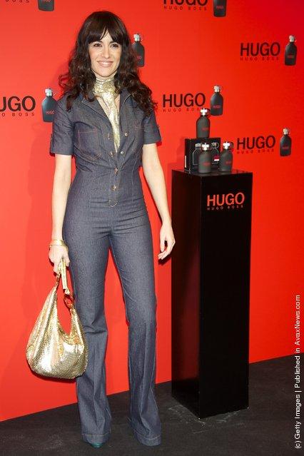 Spanish actress Ana Turpin attends Hugo Boss night party 2011