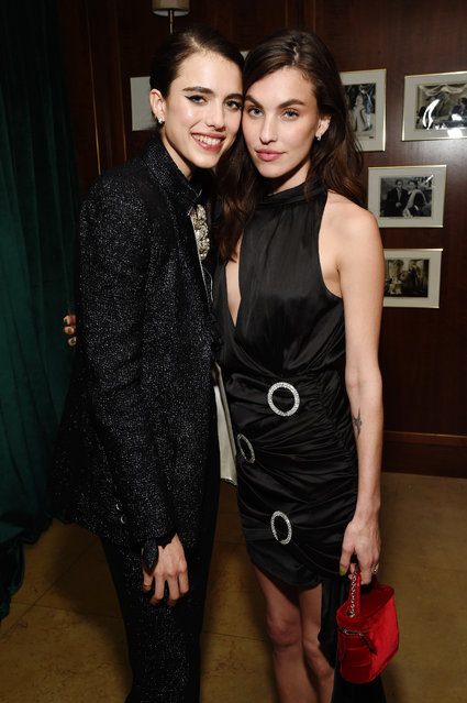 Margaret Qualley and Rainey Qualley attend 2020 Netflix SAG After Party at Sunset Tower on January 19, 2020 in Los Angeles, California. (Photo by Michael Kovac/Getty Images for Netflix)