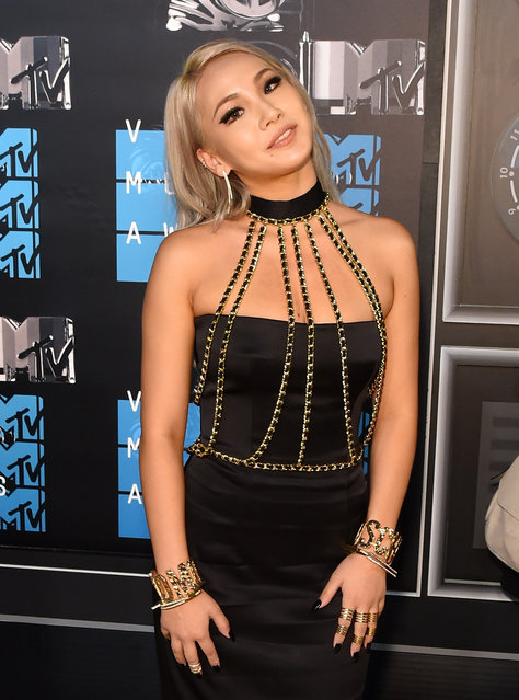 Singer Chaelin Lee aka CL attends the 2015 MTV Video Music Awards at Microsoft Theater on August 30, 2015 in Los Angeles, California. (Photo by Larry Busacca/Getty Images)