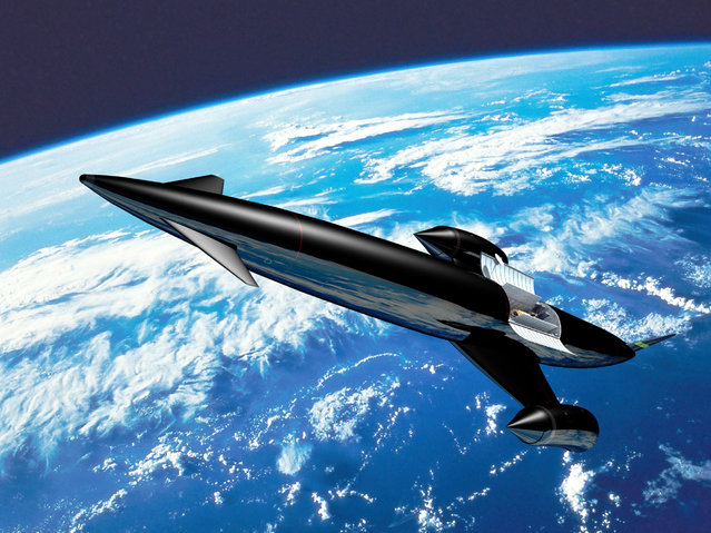 Artist's impression of Skylon. (Photo by Reaction Engines Ltd)