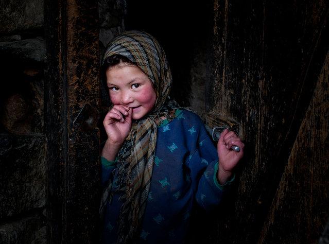 Little girl of Turtuk Village, Nubra Valley, Ladakh, India. (Photo by Sandipan Mukherjee/2013 Sony World Photography Awards)